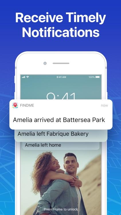 FindMe: Find My Friends, Phone screenshot-8