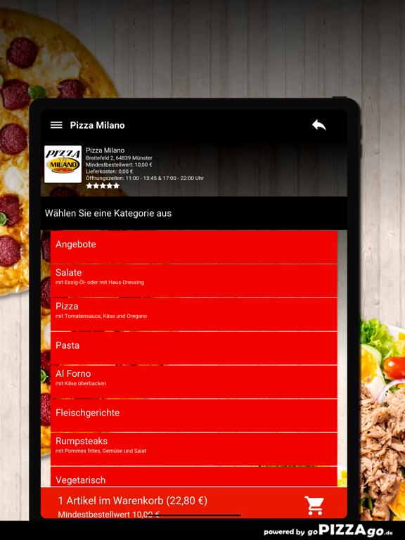 Pizza Milano Münster screenshot 8
