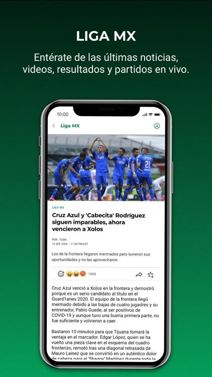 TUDN: TU Deportes Network screenshot-3
