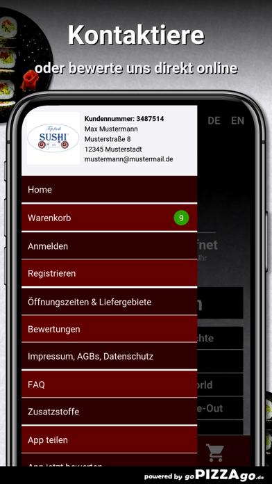 Top Fresh-Sushi Hamburg screenshot 3