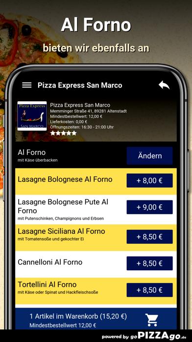 Pizza Express San Marco Altens screenshot 6