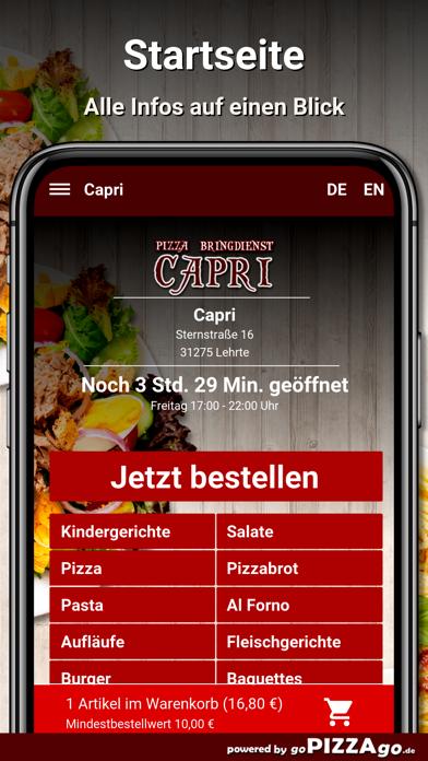 Capri Lehrte screenshot 2