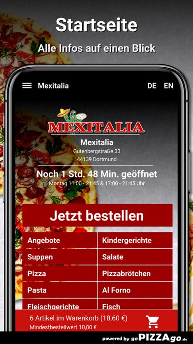 Mexitalia Dortmund screenshot 2