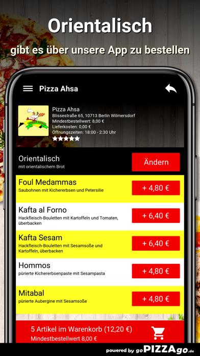 Pizza Ahsa Berlin Wilmersdorf screenshot 6
