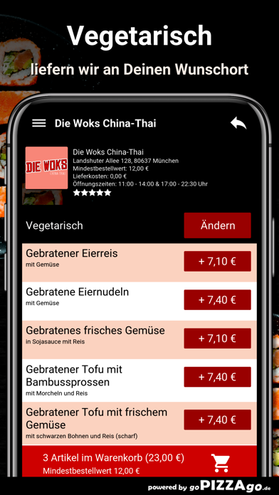 Die Woks China-Thai München screenshot 5
