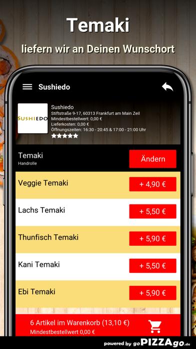 Sushiedo Frankfurt screenshot 6