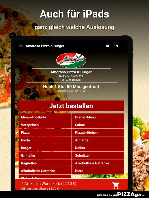 Amoroso Pizza & Burger Oldenbu screenshot 7