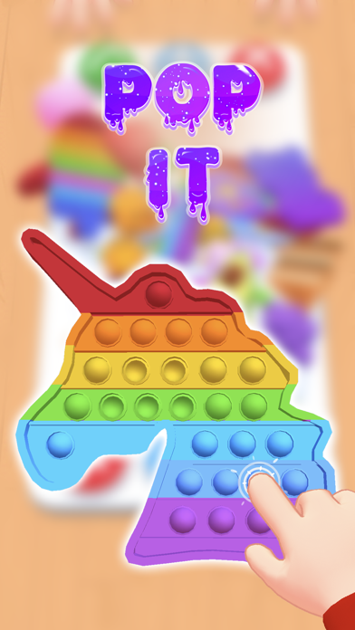 Fidget Toys Trading: 3D Pop It iPhone app afbeelding 4
