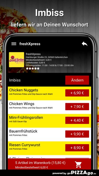 freshXpress Kaltenkirchen screenshot 6
