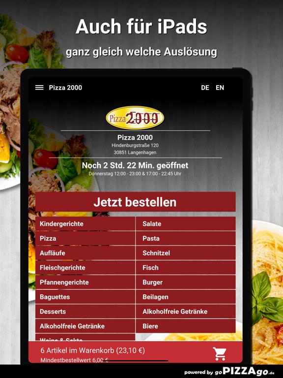 Pizza 2000 Langenhagen screenshot 7