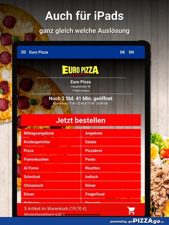 Euro Pizza Achern screenshot 7
