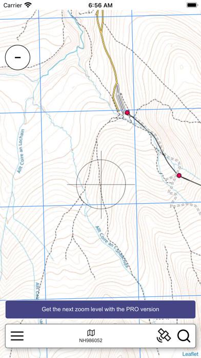 The Cairngorms Outdoor Map screenshot 2