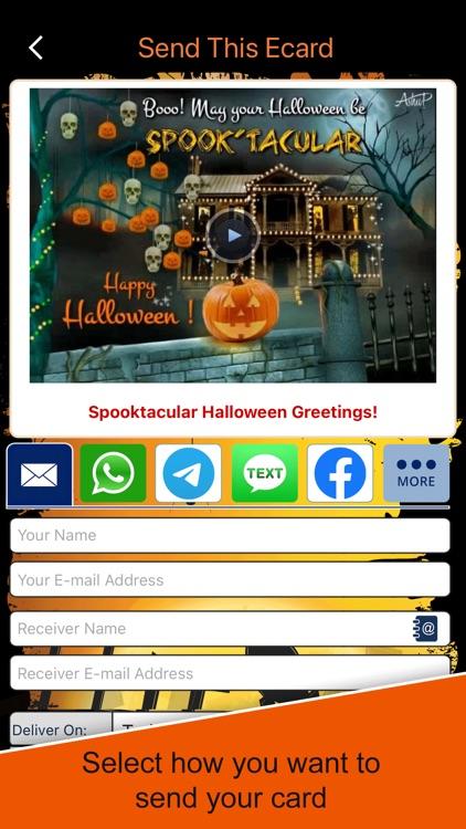 Halloween ecards & Greetings screenshot-3