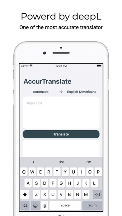 AccurTranslator screenshot 1