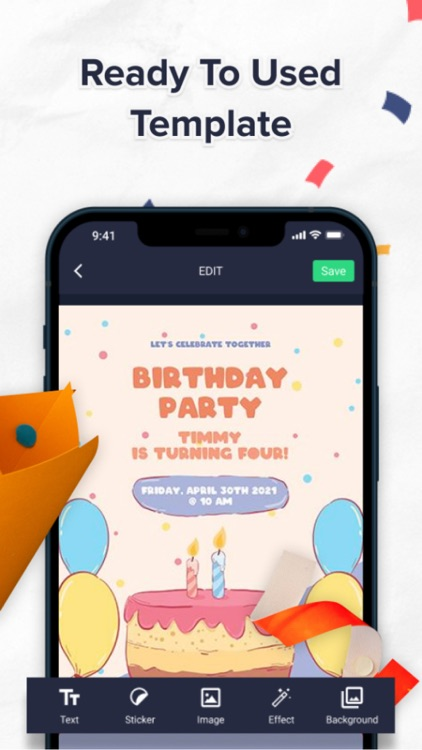 Birthday Card Maker - Editor screenshot-6