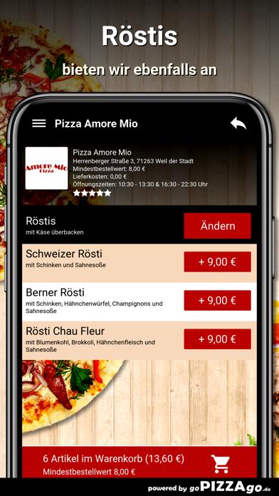 Pizza Amore Mio Weil der Stadt screenshot 6