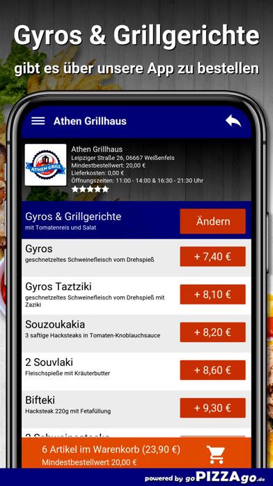 Athen Grillhaus Weißenfels screenshot 6