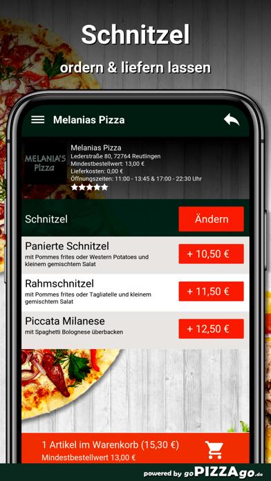 Melanias Pizza Reutlingen screenshot 6