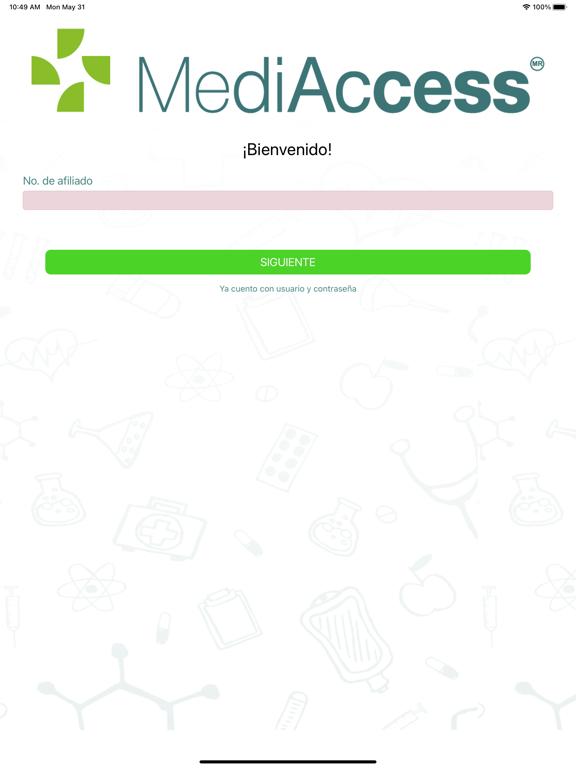 Afiliados MediAccess screenshot 9