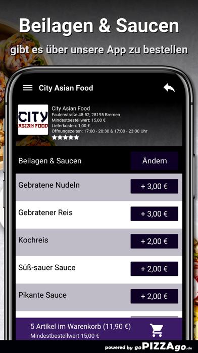 City Asian Food Bremen screenshot 5