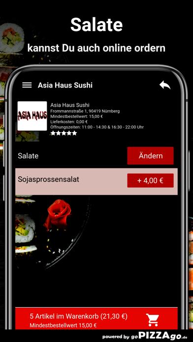 Asia-Haus Sushi Nürnberg screenshot 5