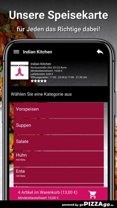 Indian Kitchen Bonn screenshot 4