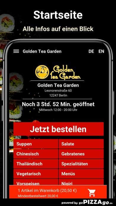 Golden Tea Garden Berlin screenshot 2