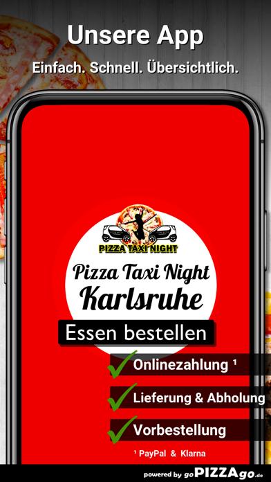 Pizza Taxi Night Karlsruhe screenshot 1