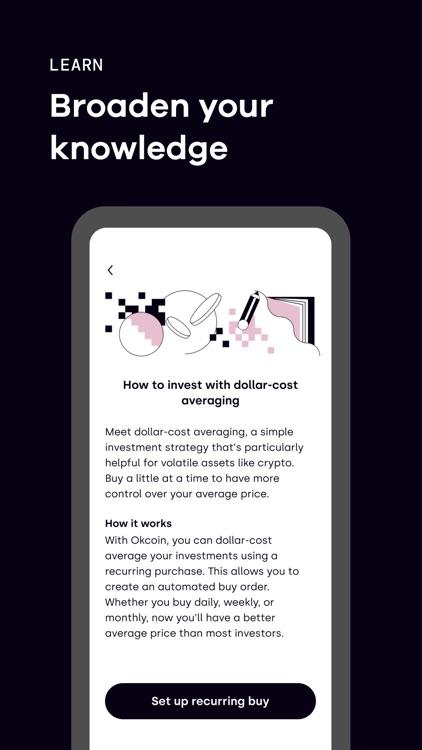 Okcoin - Buy Bitcoin & Crypto screenshot-4