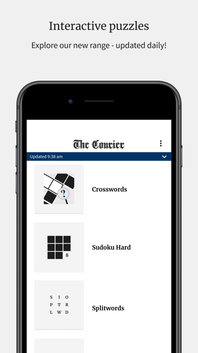 The CourierScreenshot of 4