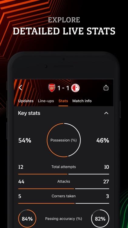 Europa: official football app screenshot-4