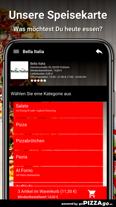 Bella-Italia Pulheim screenshot 4