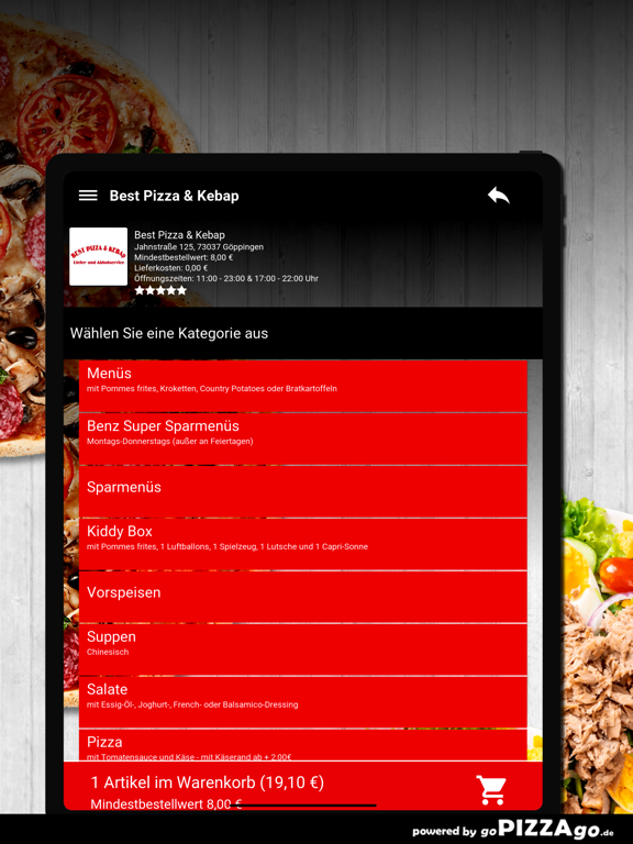Best Pizza & Kebap Göppingen screenshot 8