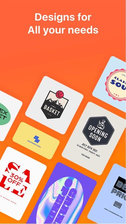 Logo Maker Shop:Design Creator screenshot-3