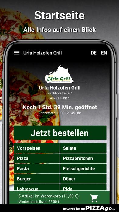 Urfa Holzofen Grill Hilden screenshot 2