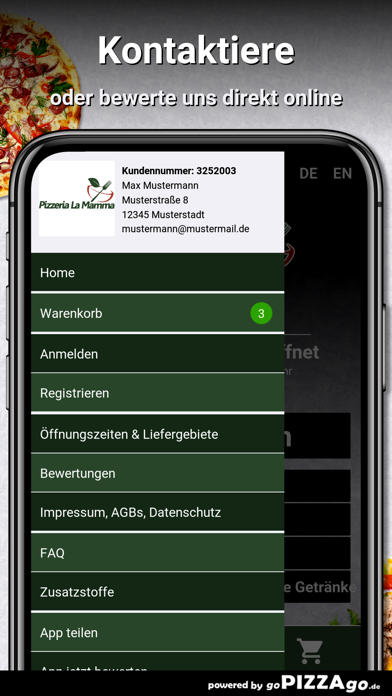Pizzeria-La Mamma Saarbrücken screenshot 3