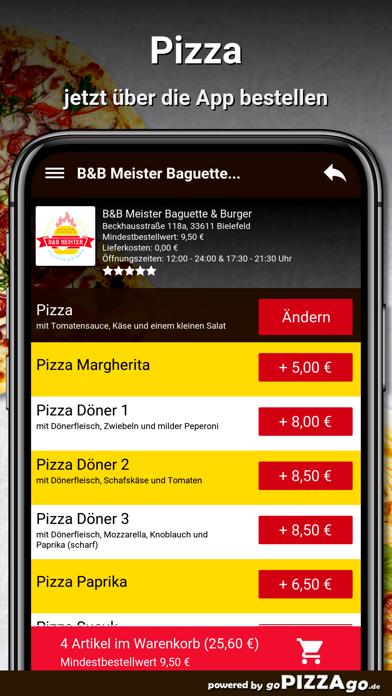 B&B Meister Baguette & Burger screenshot 5