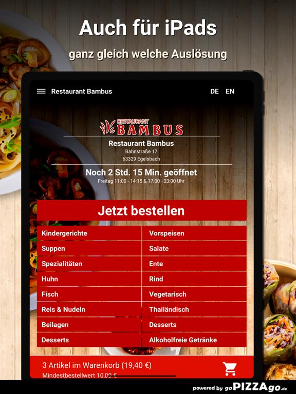 Restaurant Bambus Egelsbach screenshot 7