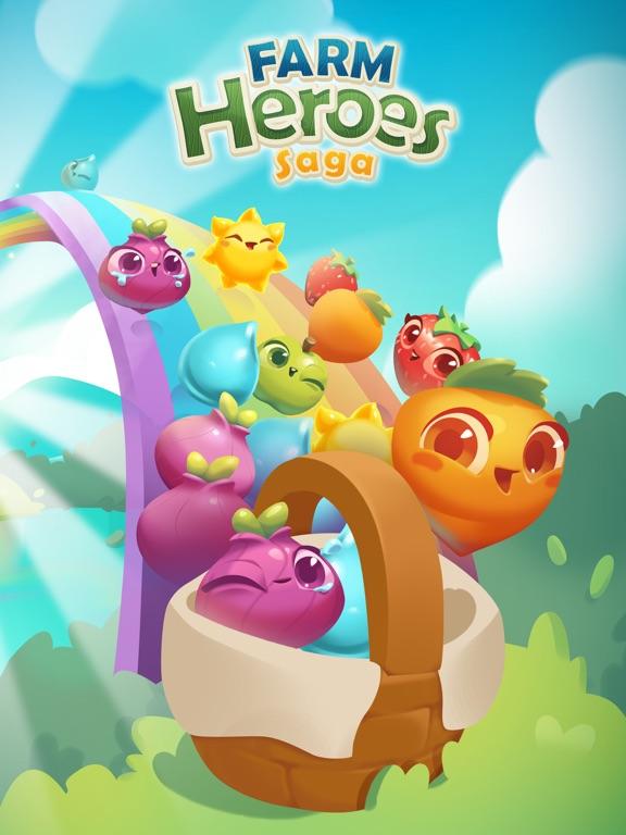 Farm Heroes Saga iPad app afbeelding 1
