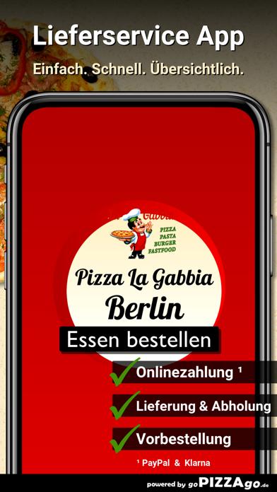 Pizza La Gabbia Berlin screenshot 1