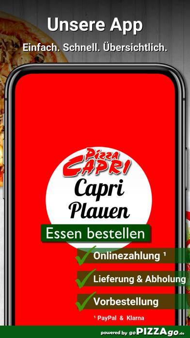 Pizza Capri Plauen screenshot 1