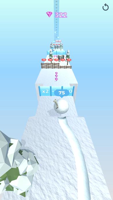 Snowball Effect 3D screenshot 9