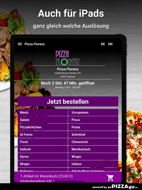 Pizza Florenz Kassel screenshot 7