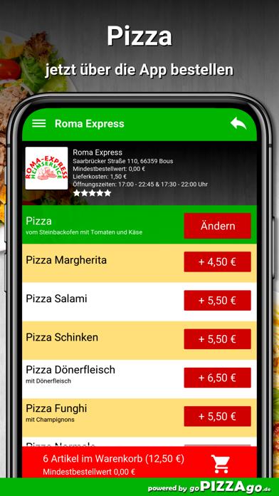 Roma Express Bous screenshot 5
