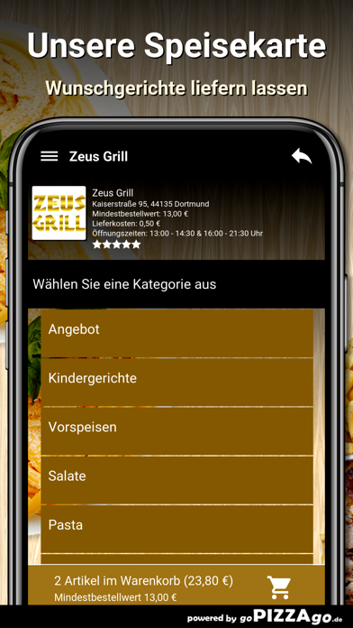 Zeus Grill Dortmund screenshot 4