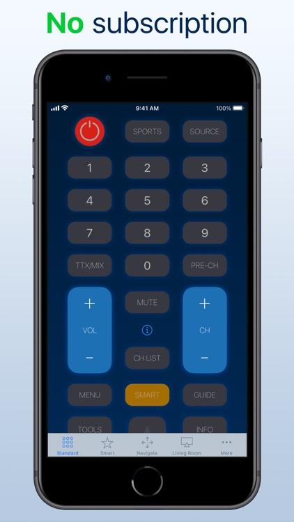 myTifi remote for Samsung TV screenshot-0