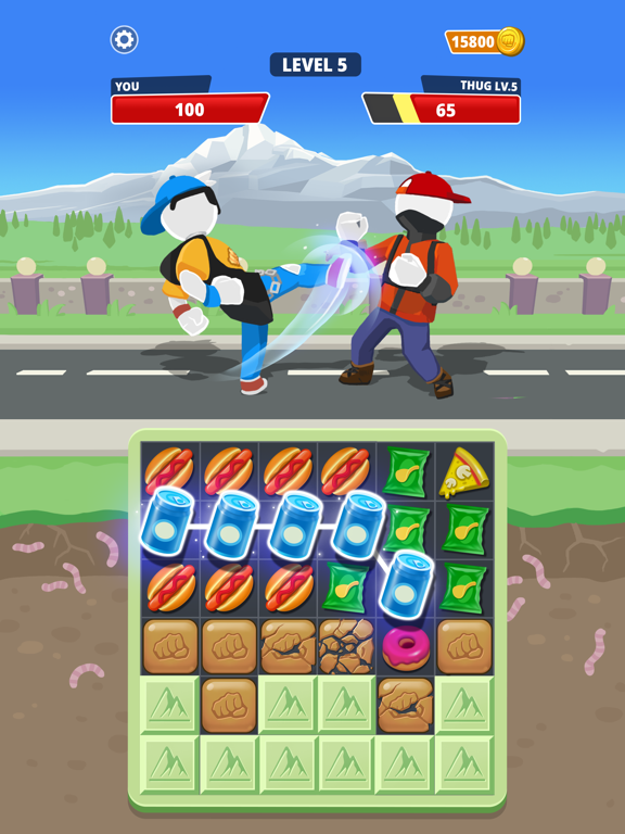 Match Hit - Puzzle Fighter screenshot 14