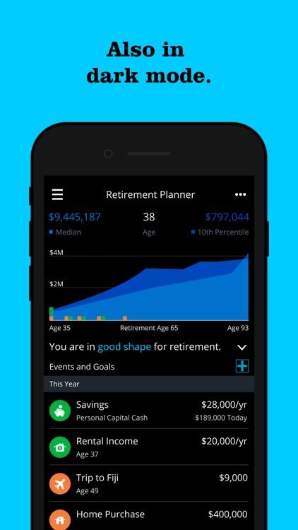 Personal Capital: Investing screenshot-7