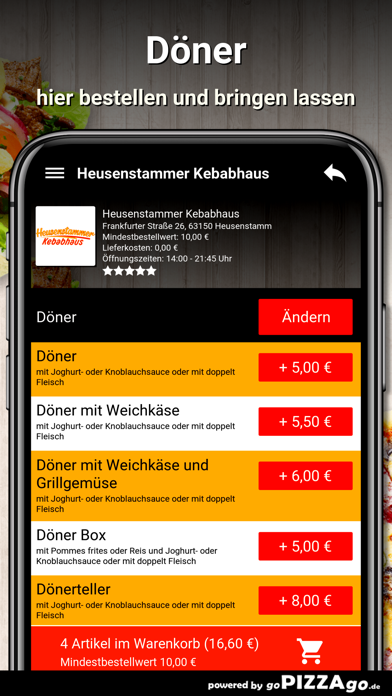 Kebabhaus Heusenstamm screenshot 6