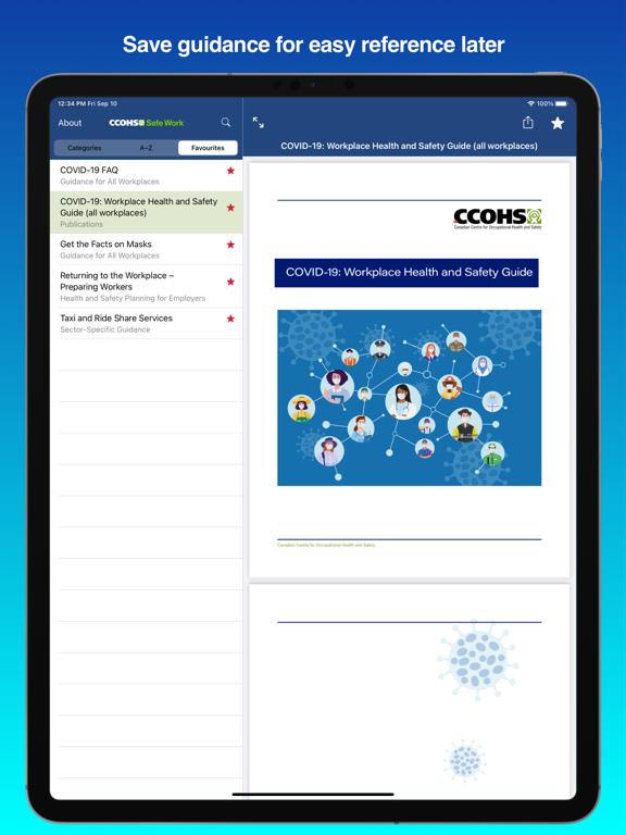 CCOHS Safe Work screenshot 10